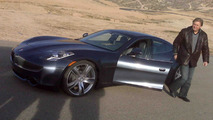 Fisker Karma first drive at Willow Springs