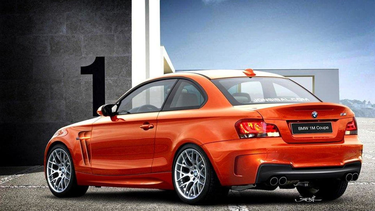 1-Series M Coupe rendered by Jon Sibal