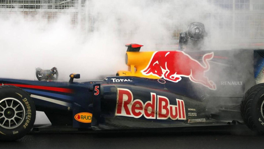Vettel failure a surprise admits Red Bull