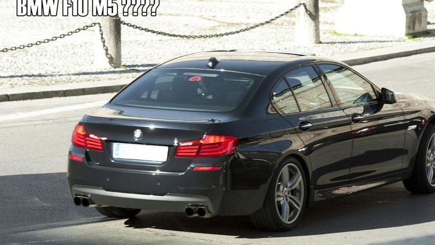 2012 BMW F10 M5 spotted with no camo?