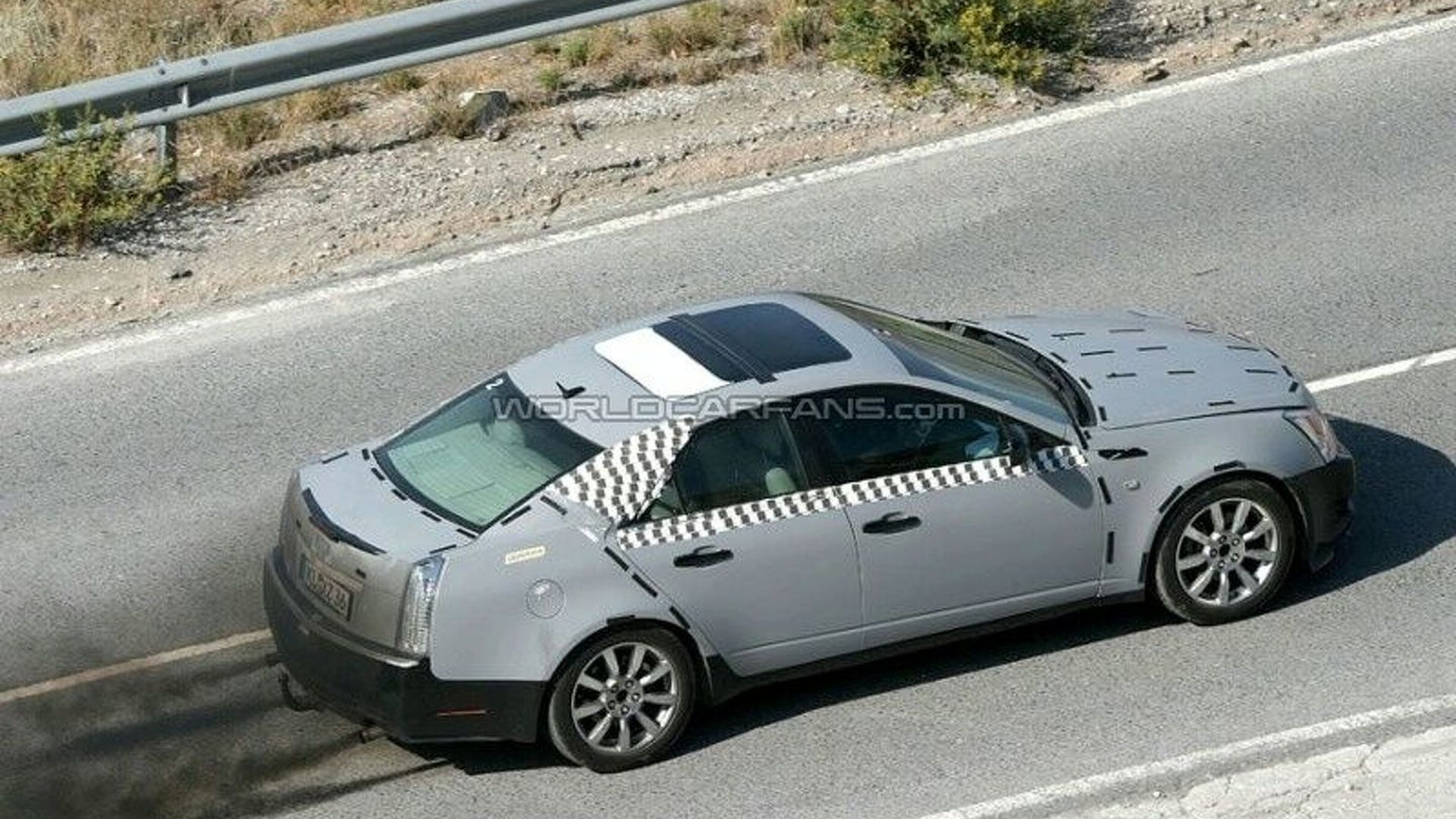 Cadillac STS Diesel Spotted Undergoing Testing