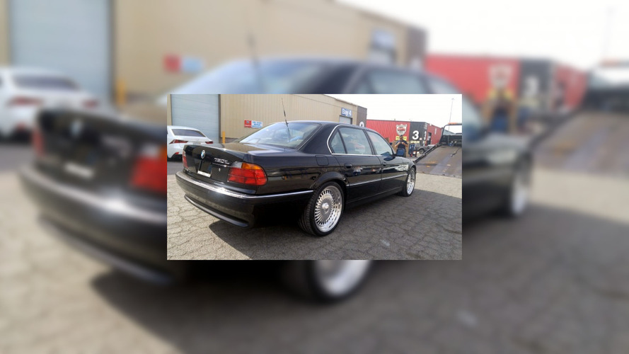BMW 750iL in which Tupac was shot for sale at $2 million