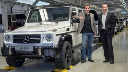 The Mercedes G Class is selling better than ever
