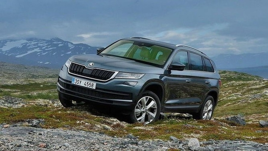 Skoda Kodiaq leaked ahead of today's reveal