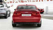 Audi A3 sedan with the style package