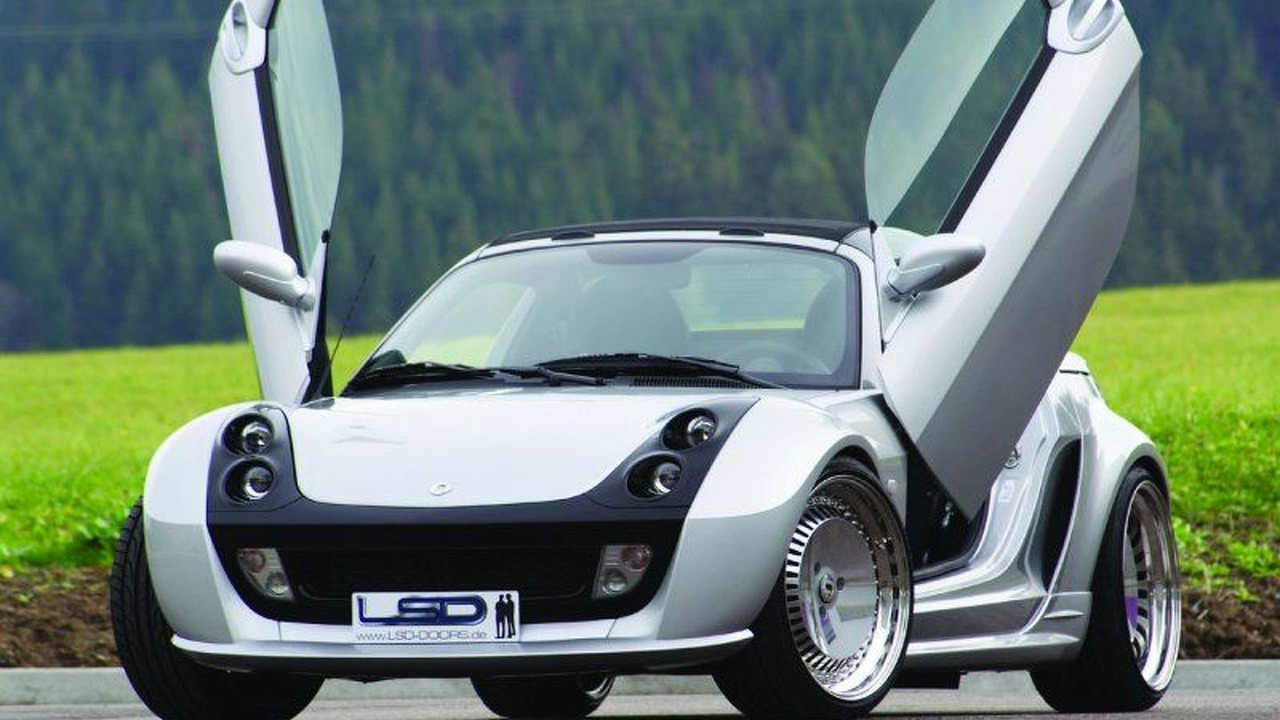 smart Roadster with LSD wing doors
