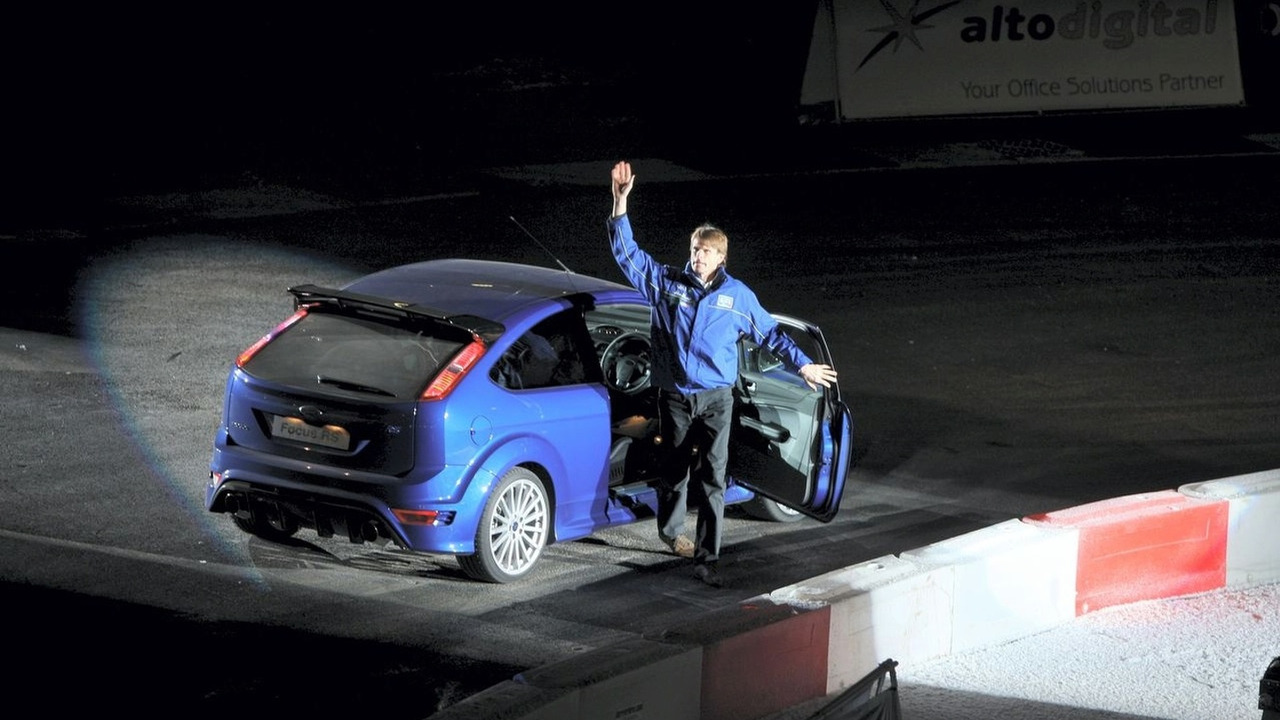 Ford Focus RS debut with Marcus Grönholm