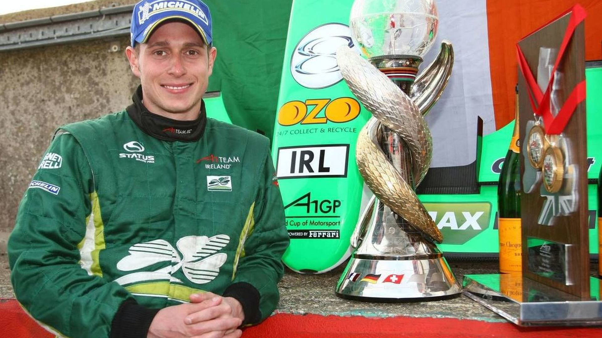 A1GP Champion Carroll reveals 2010 talks with new F1 team