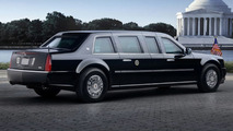 Obama's New Presidential Cadillac Limo Revealed - Official Details and Pics