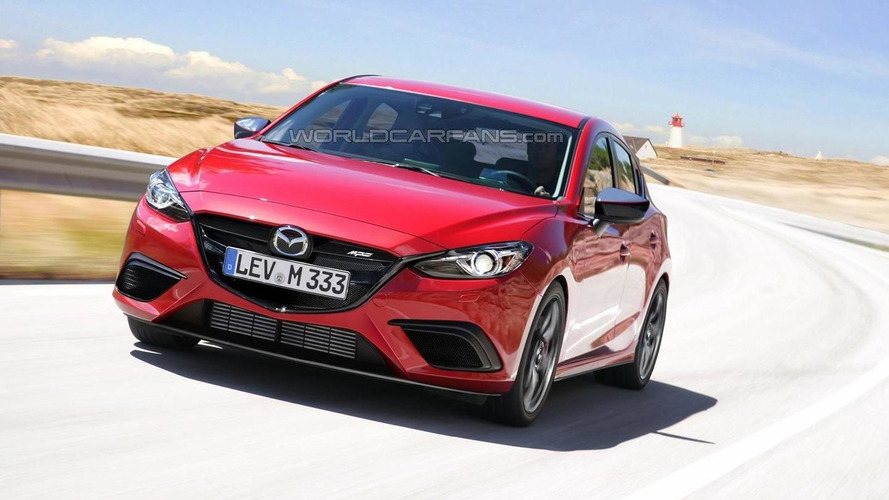 Mazda3 MPS rendered ahead of next year's possible launch