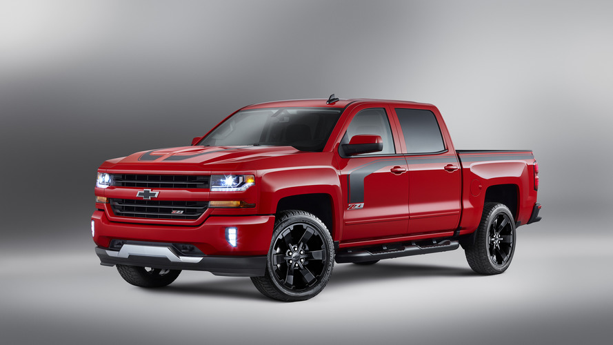 Chevy Silverado Rally Edition is yet another special model