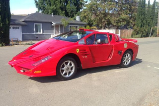 This Fiero-Based Ferrari Kit Car is of Questionable Quality