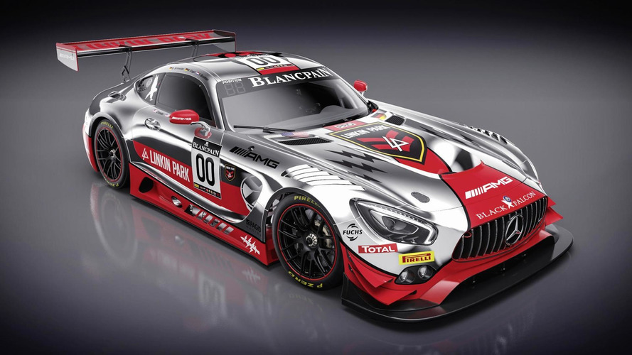Linkin Park designed a Mercedes racecar livery. Yes, seriously