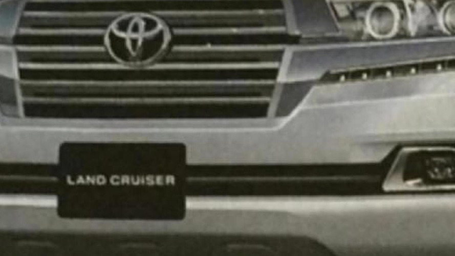 2016 Toyota Land Cruiser leaks out early [video]