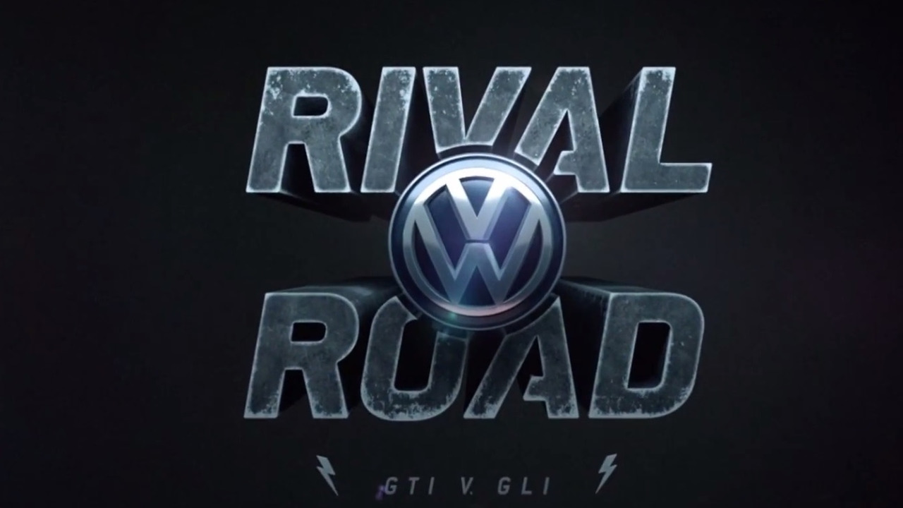 Volkswagen Rival Road: GTI v. GLI video game