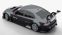 Saab 9-3 TTA Race Car 14.3.2012
