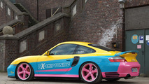 Porsche 996 modified by OK-Chiptuning