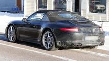 2013 Porsche 911 Targa spied during winter testing