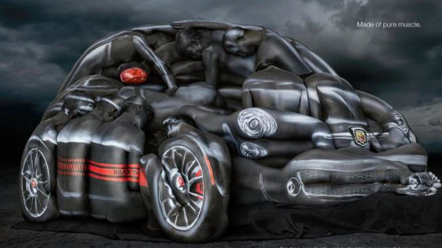 Fiat shows 500 Abarth made from body-painted models [video]