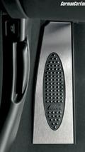 BMW M6 driver's footrest