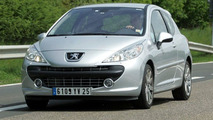 Peugeot 207 RC Undisguised Spy Photos