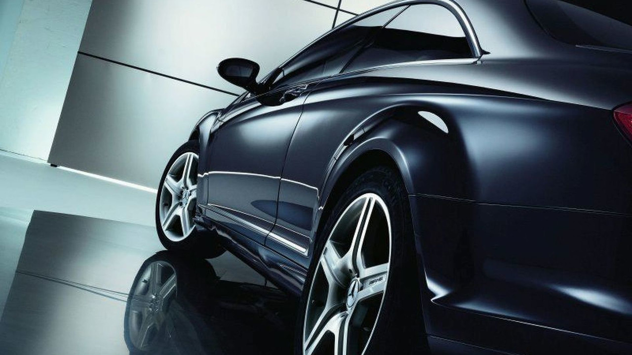 New Mercedes-Benz CL Class AMG Styling
