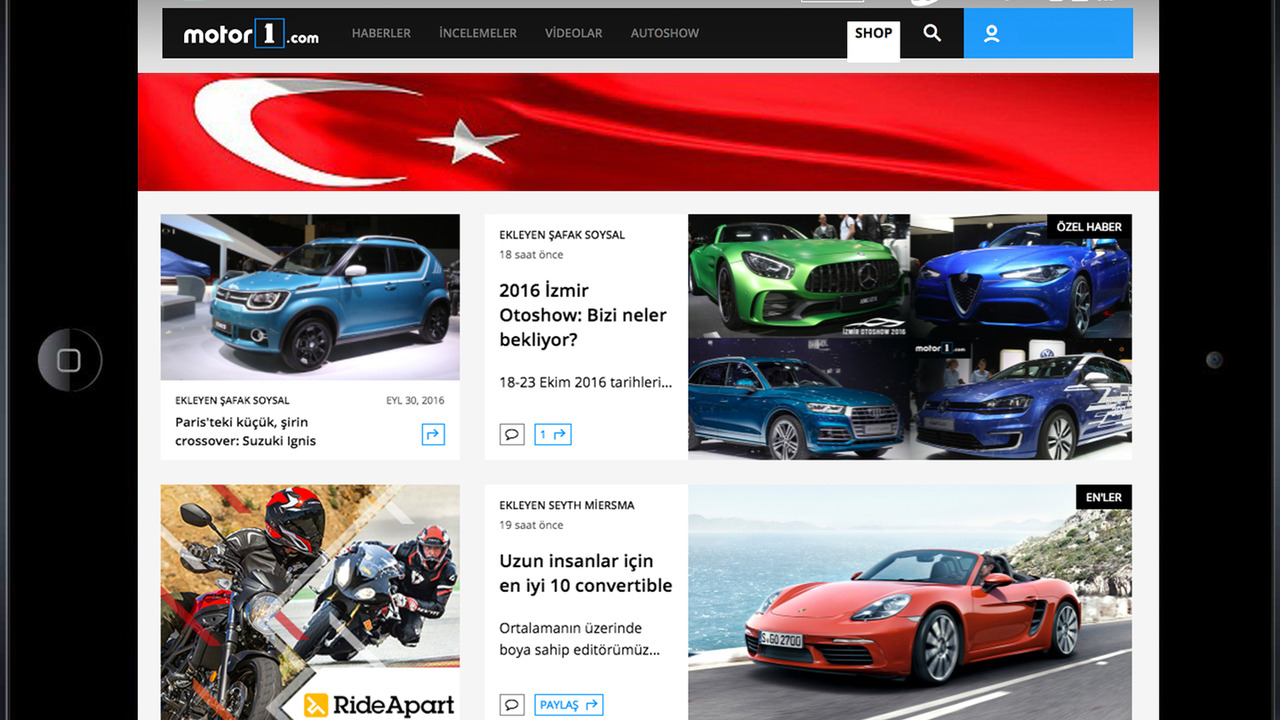 Motor1.com-Türkiye duyurusu