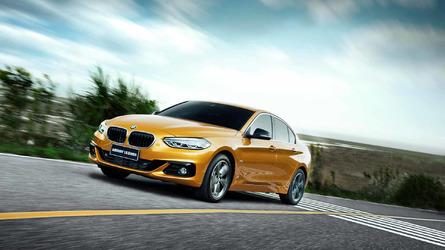 BMW Série 1 Sedan de tração dianteira tem novos detalhes revelados