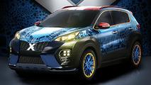 Kia unveils an X-Men themed Sportage