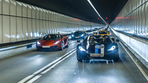 Great photos from McLaren 12C Parade in Hong Kong