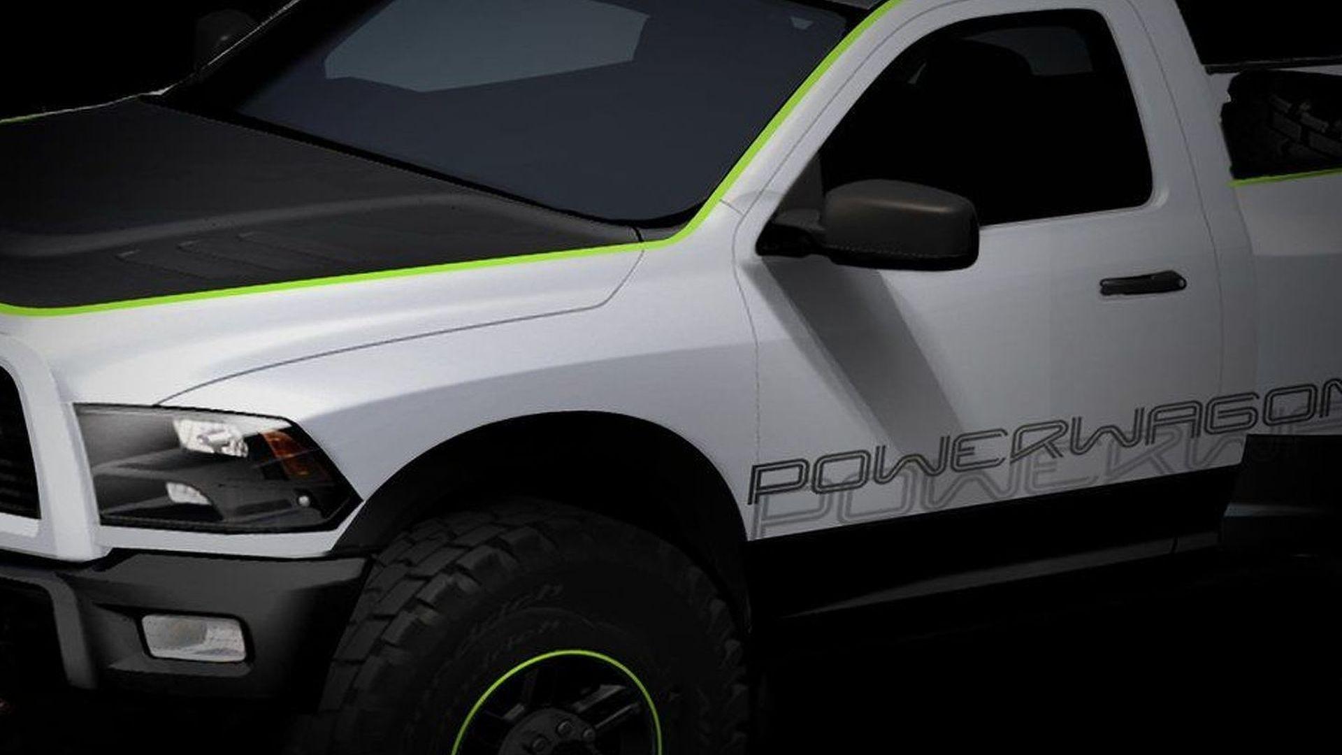 Chrysler *Moparized* Truck Sketches Released