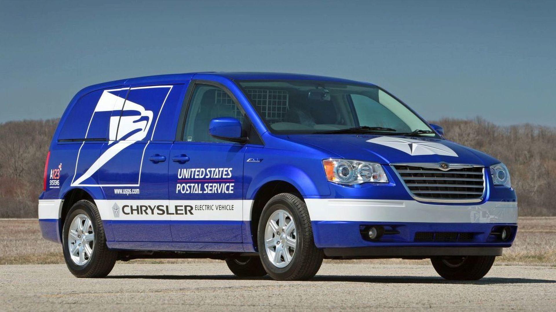 Chrysler Reveals Minivan EV Proposal for US Post Office - Seeks more gov funding