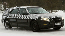 Saab 9-5 Wagon Spied winter testing in Sweden 21.01.2010