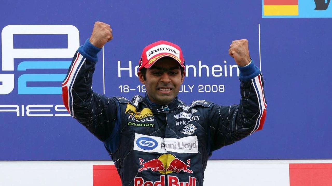 Karun Chandhok (IND), ISport International - GP2 Championship 2008, Hockenheimring, 20.07.2008, Hockenheim, Germany