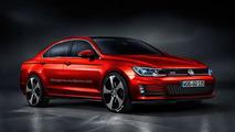 Volkswagen Golf CC GTI render shows potential