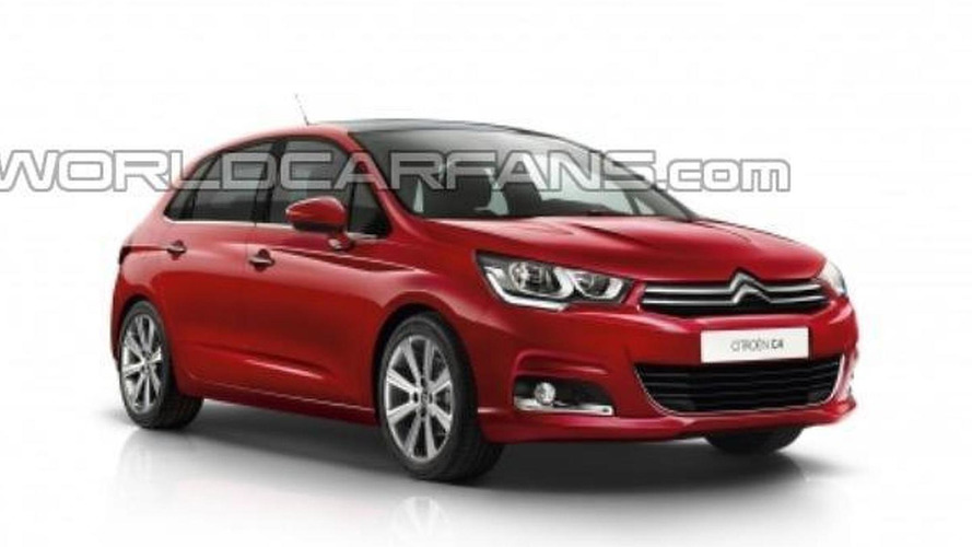 Citroen C4 facelift leaked