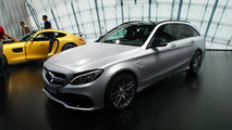 Mercedes-AMG C63 Estate at 2014 Paris Motor Show
