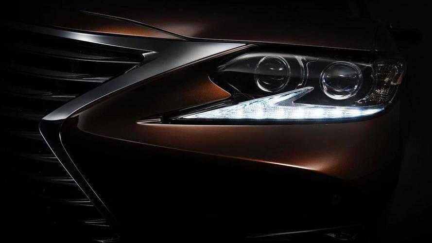 2016 Lexus ES teased ahead of Auto Shanghai debut