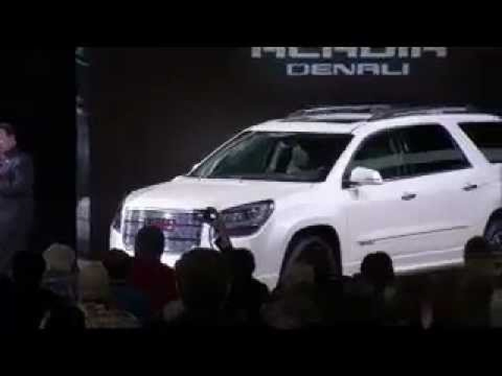 2013 GMC Acadia & Acadia Denali Reveal - 2012 Chicago Auto Show