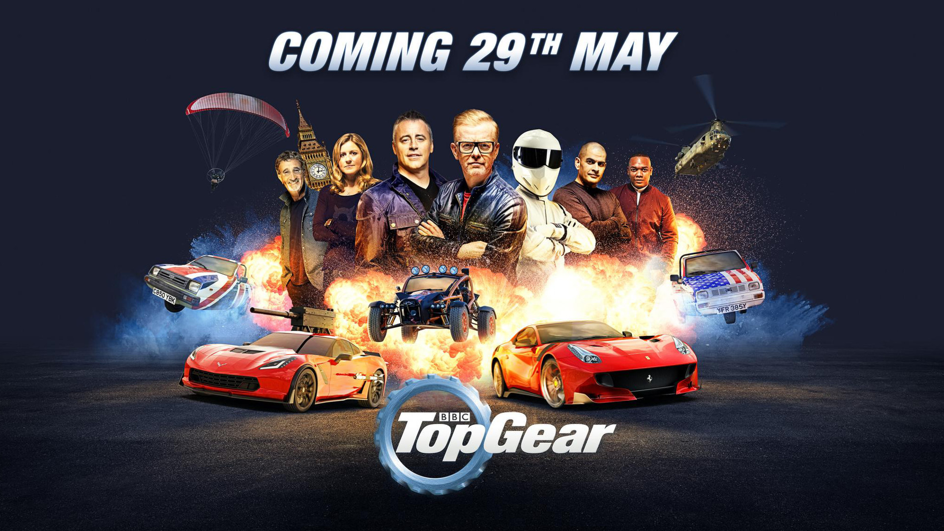 top gear uk returns to tv on may 29th. Black Bedroom Furniture Sets. Home Design Ideas