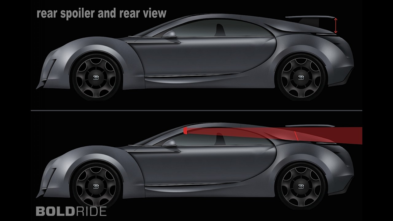 Bugatti Super-Sedan Concept by Dejan Hristov