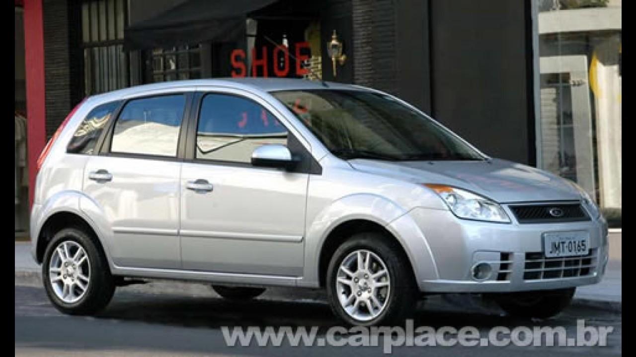 Ford reduz preço do Fiesta 1.6 2009 - Linha ganha sistema My Connection