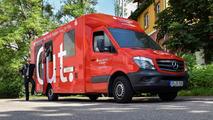 Mercedes Sprinter converted into a mobile bank