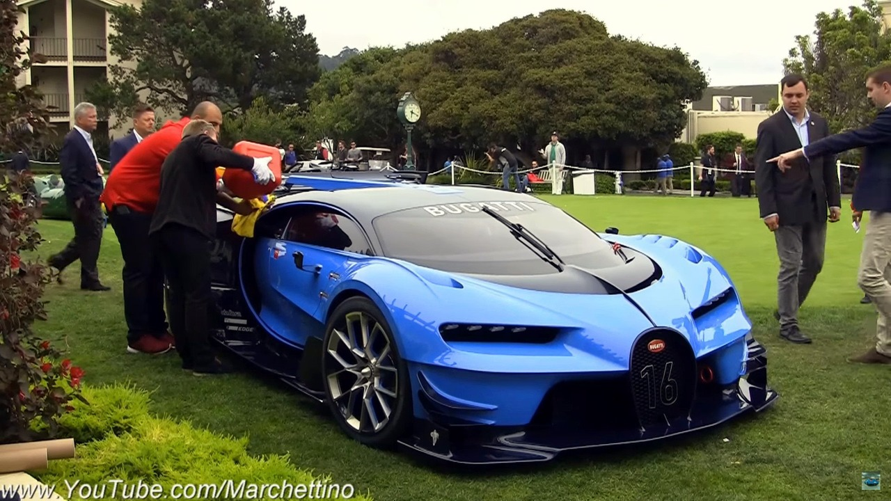 Bugatti Vision GT at Pebble Beach