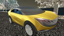 Mazda Hakaze Concept Car now at Second Life