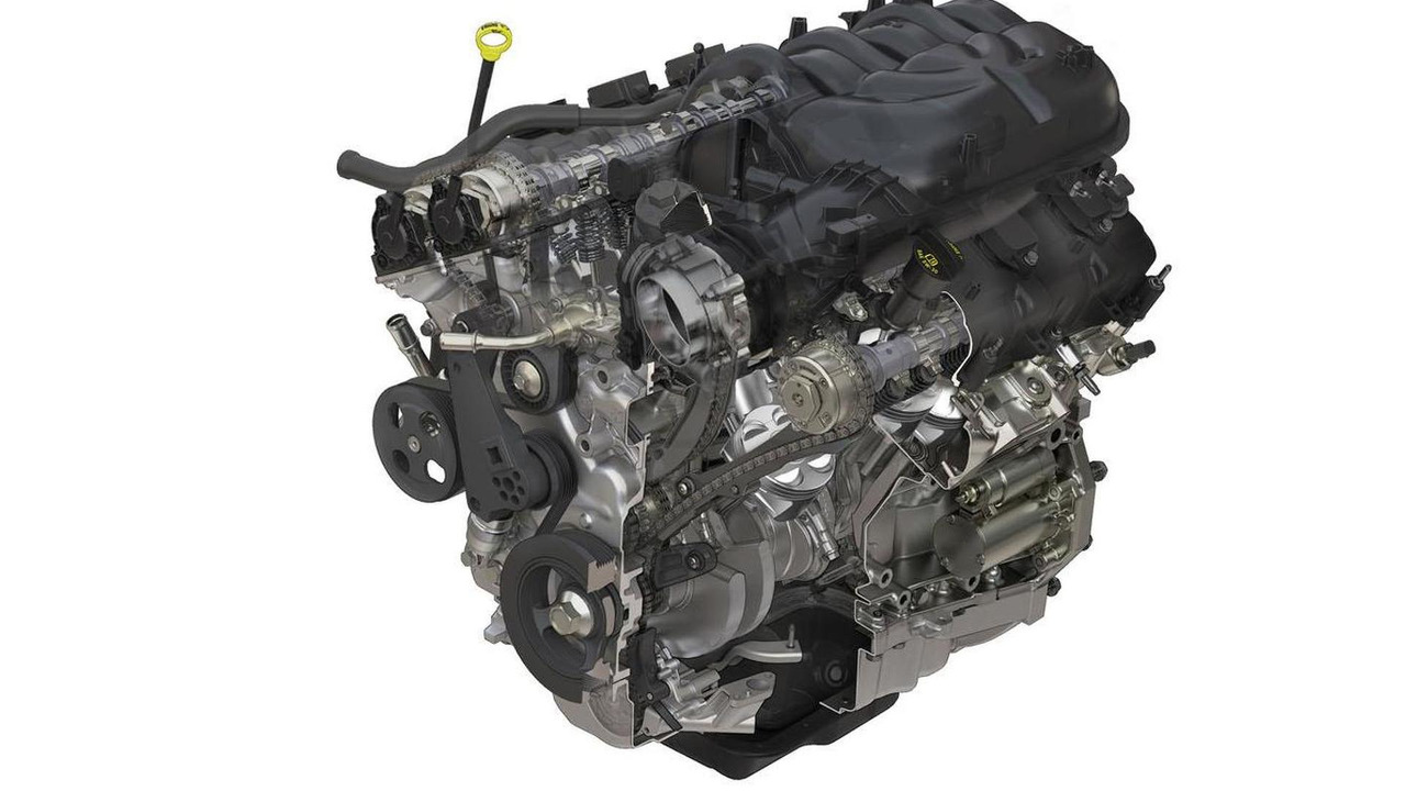 Jeep Wrangler 3.6-liter V6 engine - 22.8.2011
