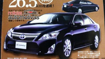 2012 Toyota Camry brochure leaked?