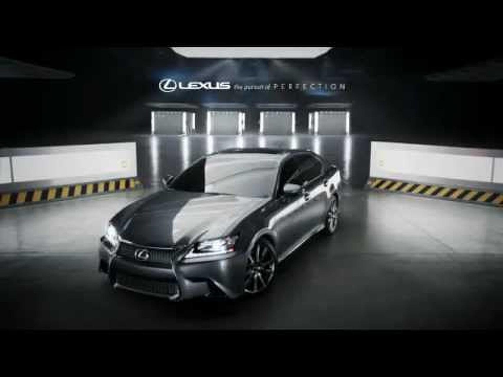 Lexus GS Super Bowl XLVI Commercial - The Beast