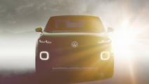 VW small SUV concept teased before Geneva reveal