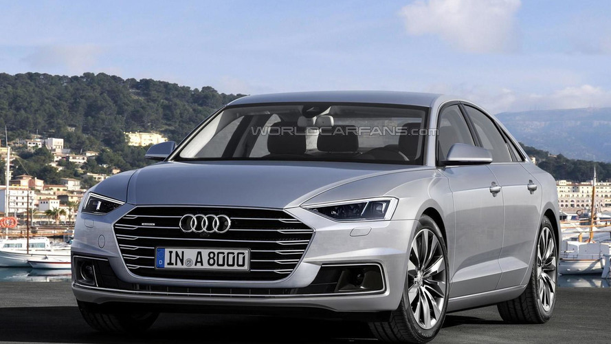 2018 audi a6 avant render shows great potential for sleek wagon. Black Bedroom Furniture Sets. Home Design Ideas